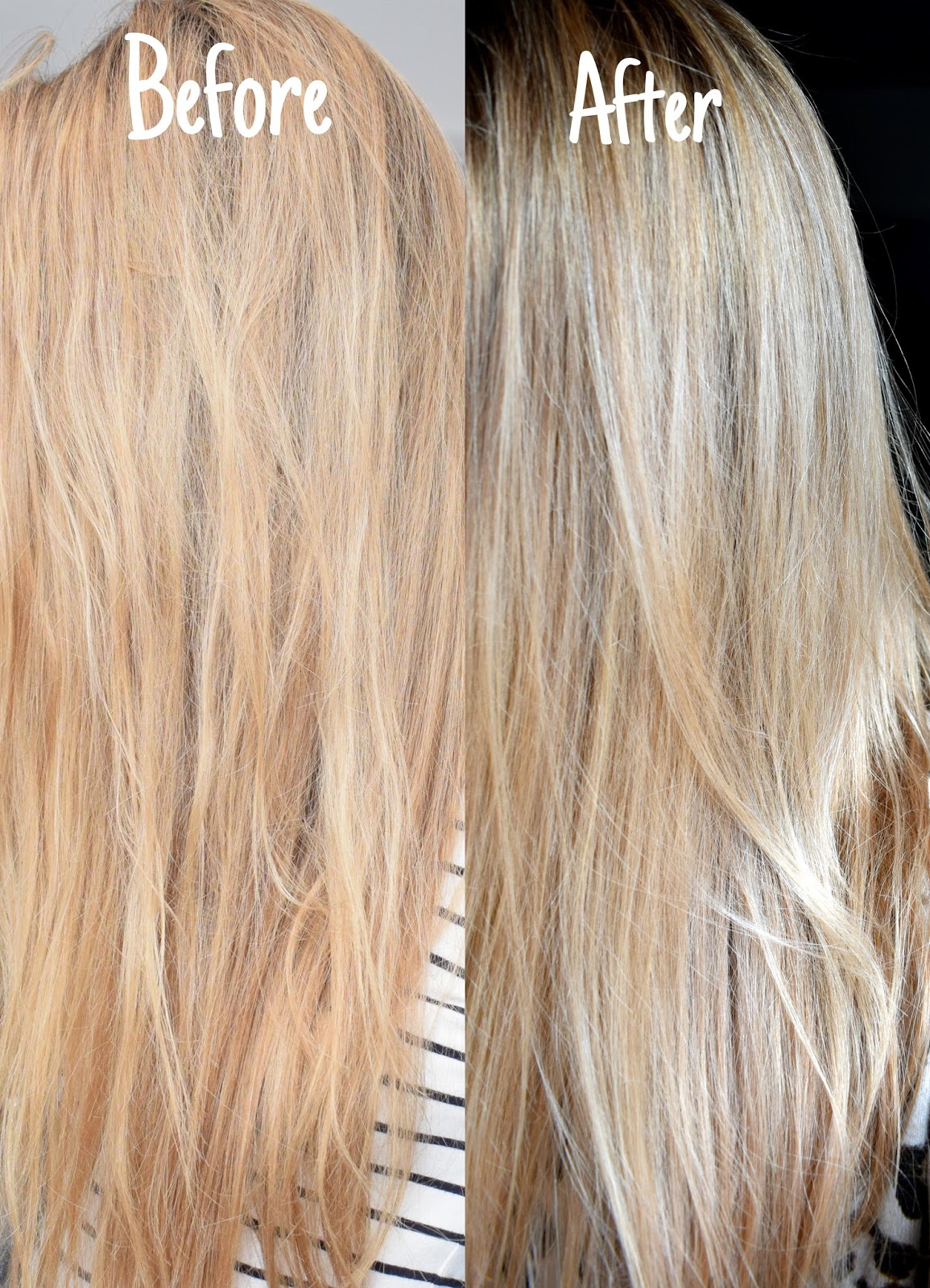 Review Colour Freedom Blondes Rose Blonde On Darker Blonde