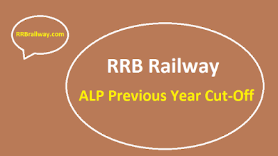 RRB Railway ALP Previous Year Cut-Off