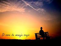 Lirik lagu Payung Teduh - Menuju Senja