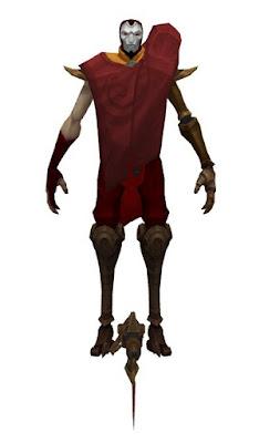 Mod Skin Jhin Blood Moon