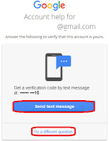 how to recover gmail password if forgotten