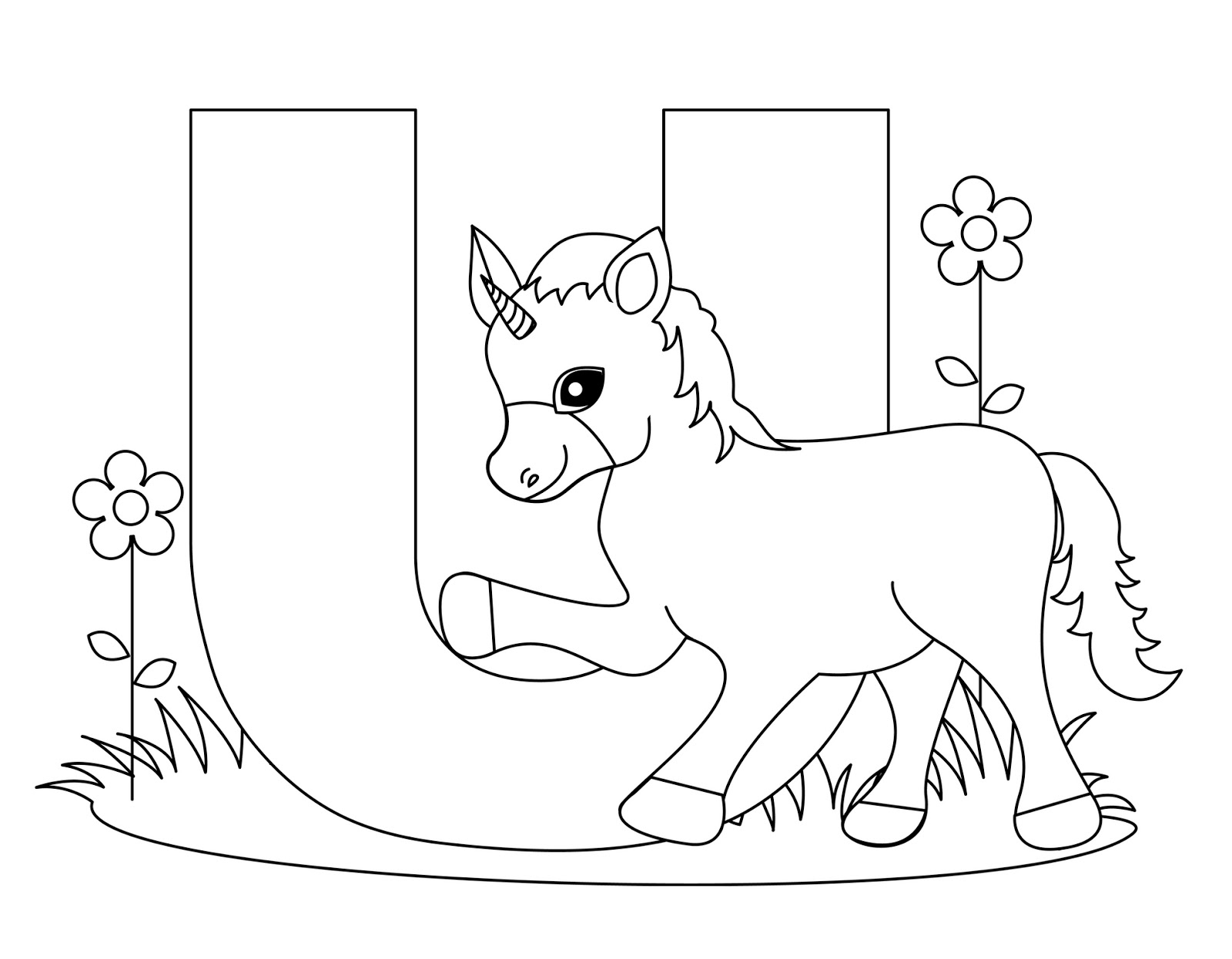 March Child Coloring