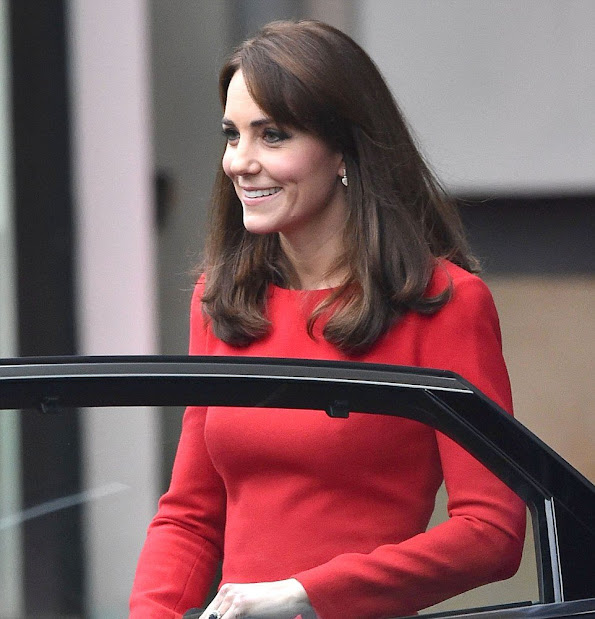 Catherine, Duchess of Cambridge attends the Anna Freud Centre Family School Christmas Party at Anna Freud Centre