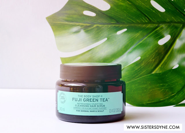 Fuji Green Tea Refreshingly Purifying Cleansing Hair Scrub