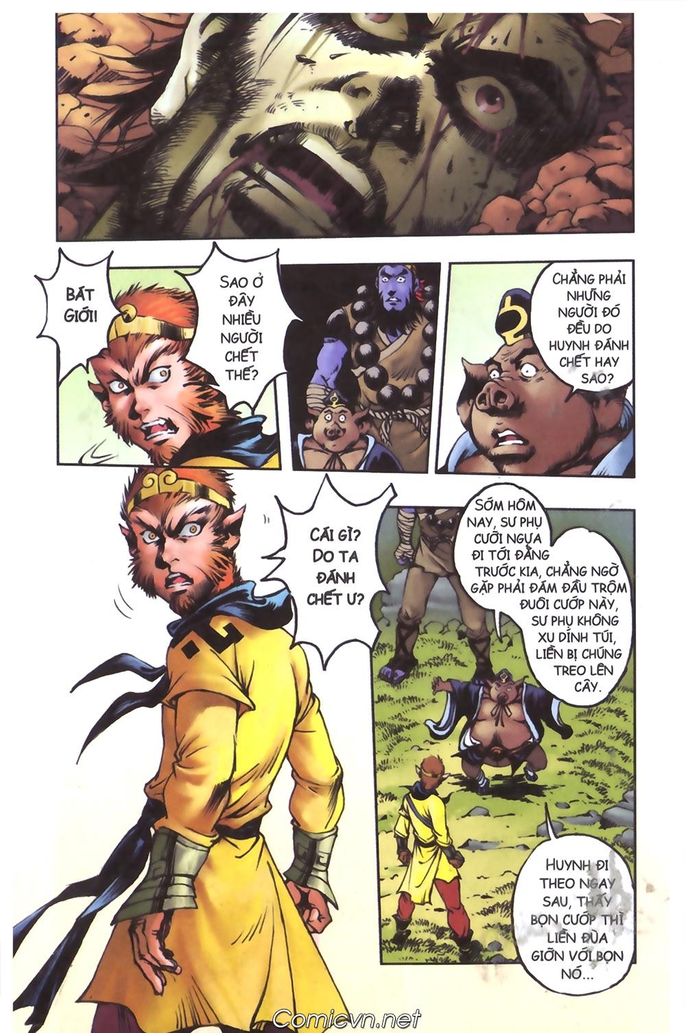 Tây Du Ký màu - Chapter 102 - Pic 20
