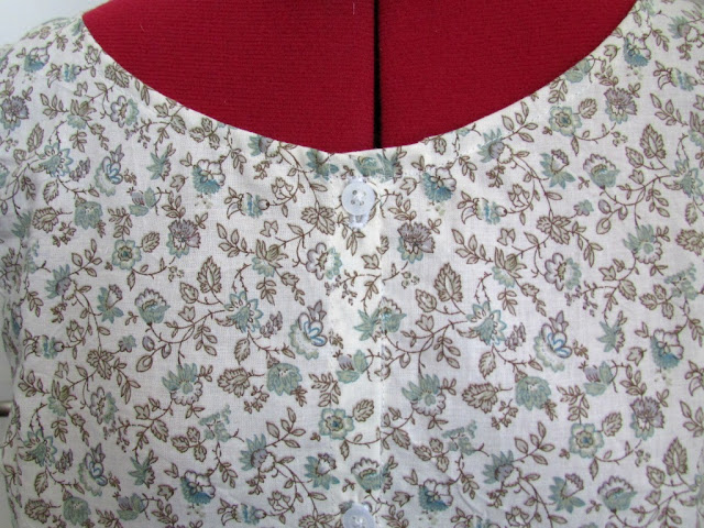 chemisier fleurs couture tissu,vetement diy cousu
