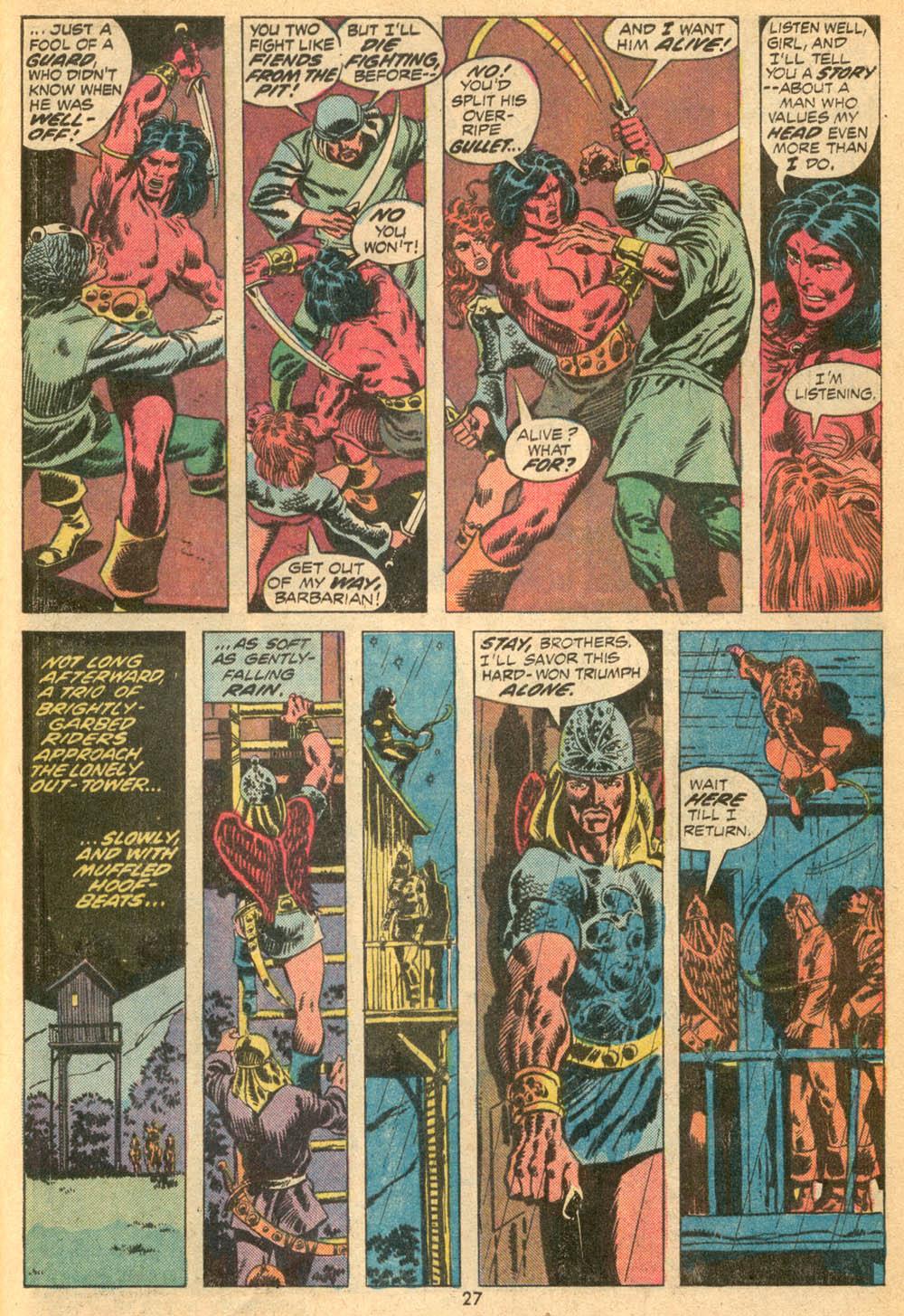 Conan the Barbarian (1970) Issue #23 #35 - English 19