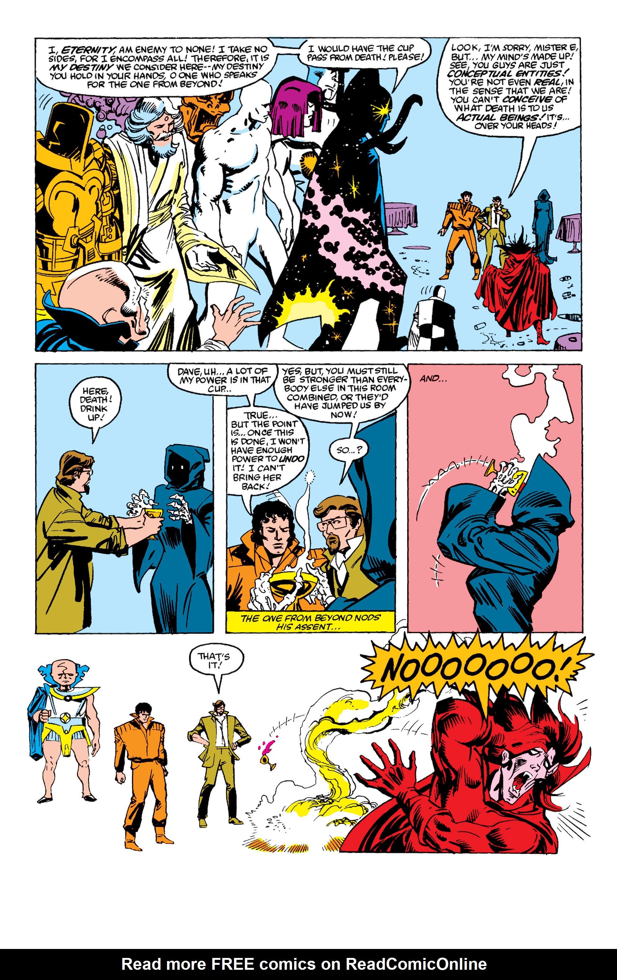 Read online Secret Wars II comic -  Issue #6 - 23