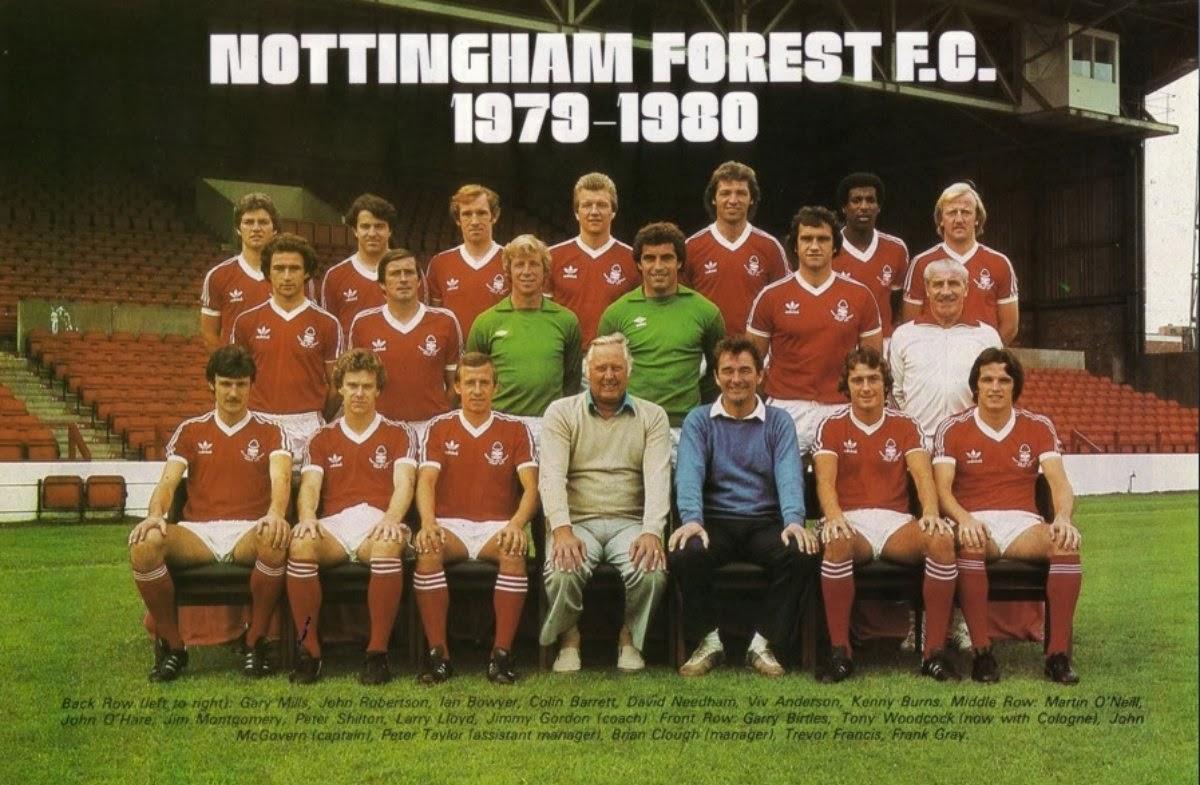 Plantilla del Nottingham Forest de la temporada 1979/80