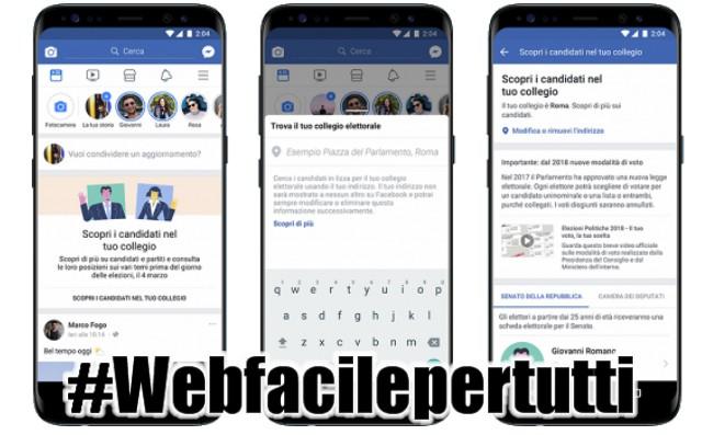 Ecco Come Funziona Candidati  - La Funzione Di Facebook Per Conoscere Chi Votare