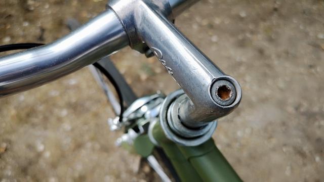 Vorbau Fahrrad klassischer Steuersatz 90er Jahre