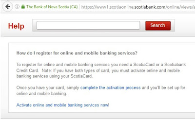 Scotiabank - How do I register for online and mobile banking services?