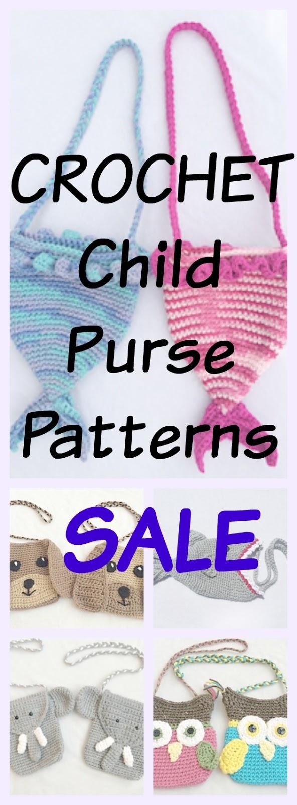 Crochet Animal Purse Pattern Sale