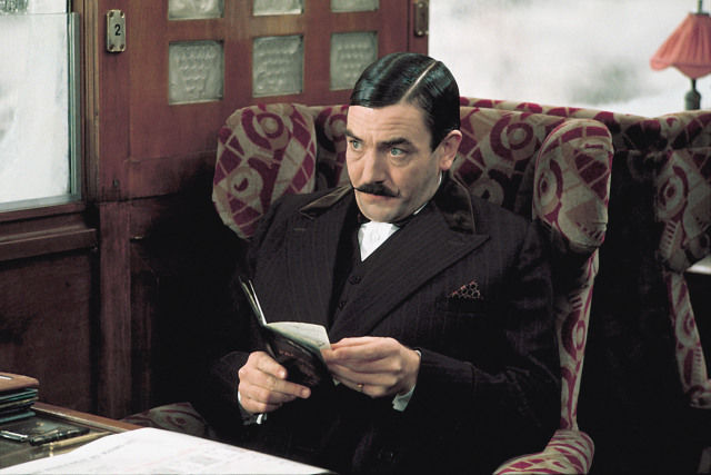Albert Finney as Hercule Poirot