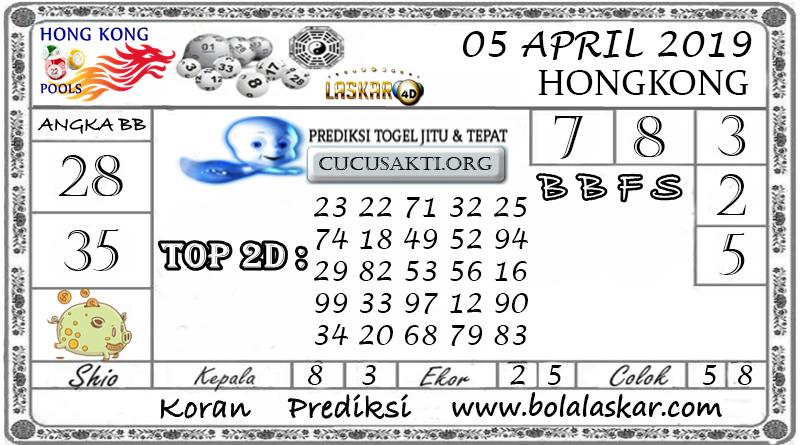 Prediksi Togel HONGKONG LASKAR4D 05 APRIL 2019