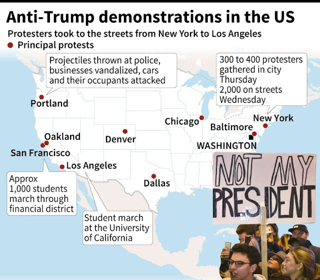 Protest Escalate in US as Trump and his Aides Plans New Moves