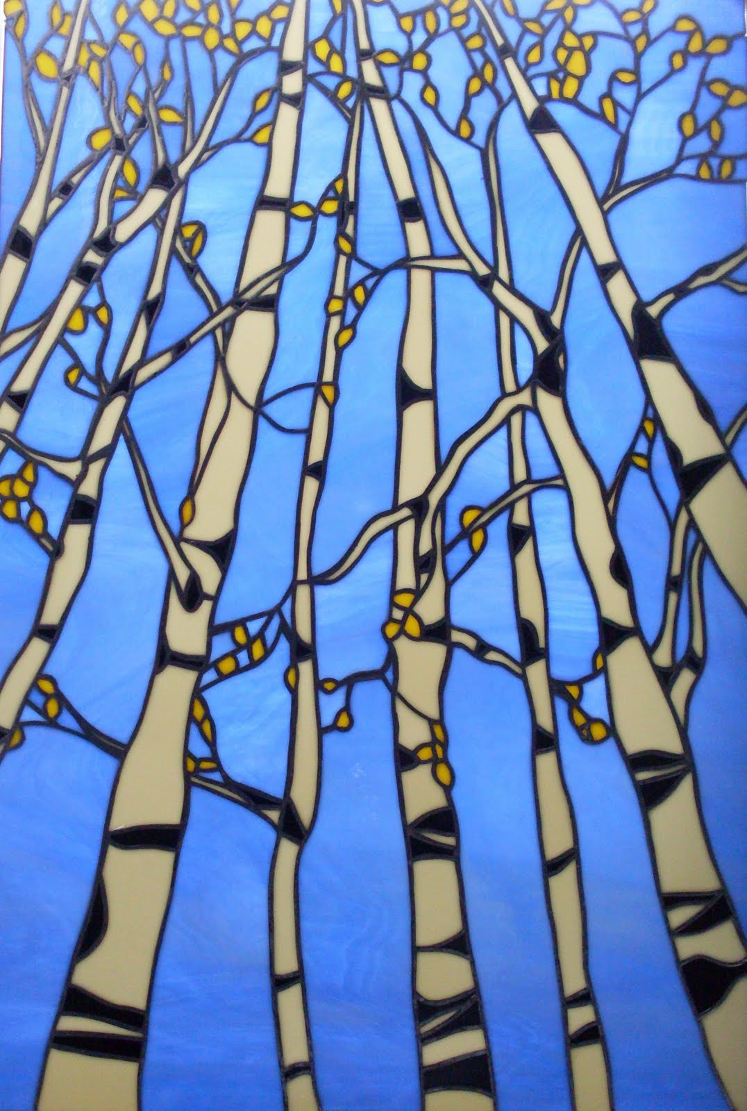 Impressions Of A Would Be Artist Fall Aspen Trees