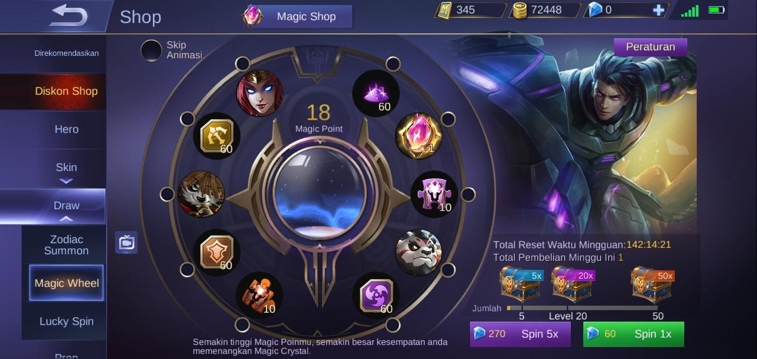 Cara Mudah Mendapatkan Magic Crystal Mobile Legends Mediakoms