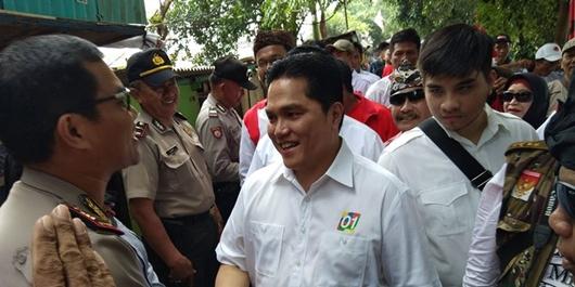 Kesan Erick Kampanye Bareng Jokowi: Dia Sahabat juga Imam yang Kita Perlukan