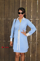 Richa Chadda Latest Pos in Blue Short Dress at the Screening Of Short Film Khoon Aali Chithi  0022.jpg