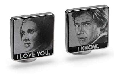 Han Solo Cufflinks