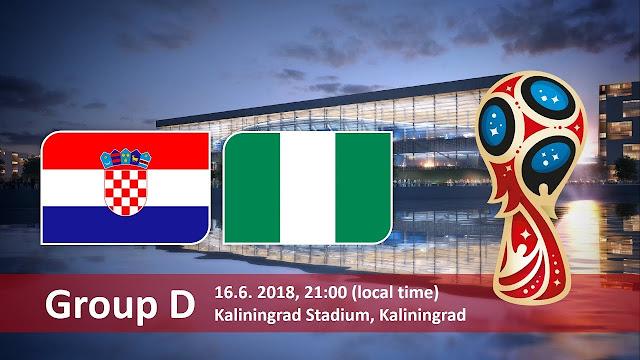 Svetsko prvenstvo: Hrvatska - Nigerija livestream gledanje [16.06.2018 21:00]