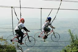 Wahan Sepeda Layang Gunung Pinang | Kramatwatu Kabupaten Serang Banten