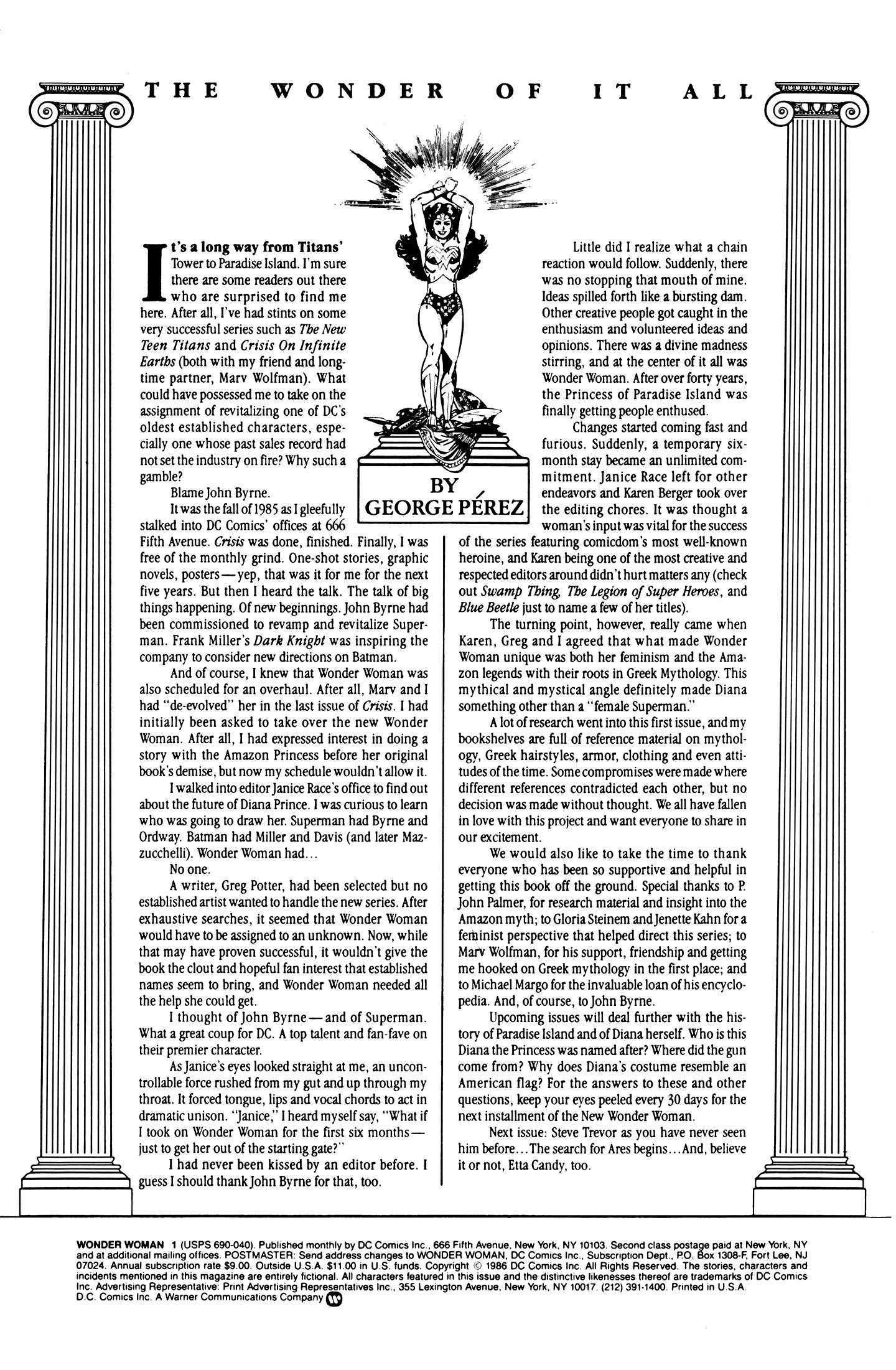 Read online Wonder Woman (1987) comic -  Issue #1 - 2