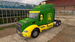 John Deere pack skins for American trucks