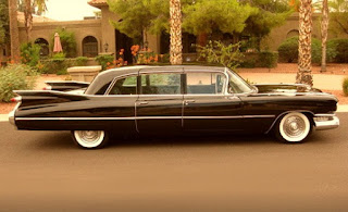 1959 Cadillac Fleetwood Brougham Limousine Side Right