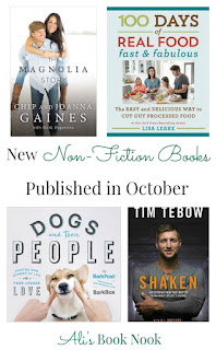 nonfiction books coming out in October - recipes, laughter, and faith