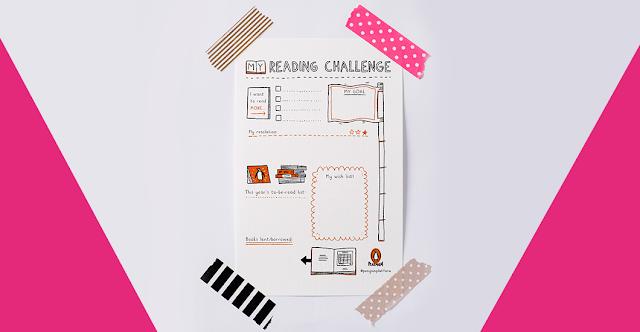 Free Reading Planner from Penguin Platform