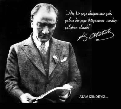 Başarmak - öğrenmek - Atatürk