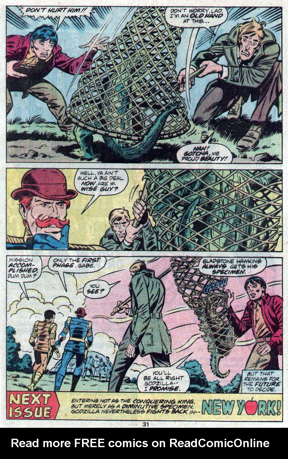 Godzilla (1977) Issue #17 #17 - English 18