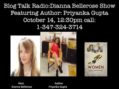 Empowering and Inspiring Women Globally- Women Who Ventured, Priyanka Gupta 10/14 by DiannaBelleRose | Entertainment Podcasts