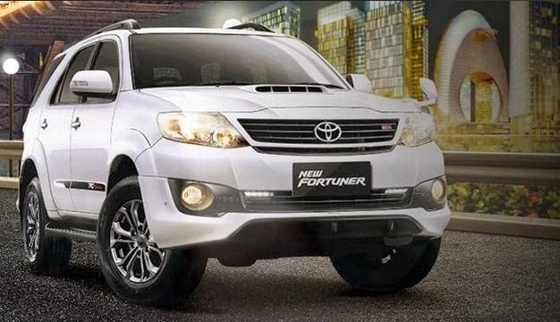 2016 Toyota Fortuner Concept Redesign