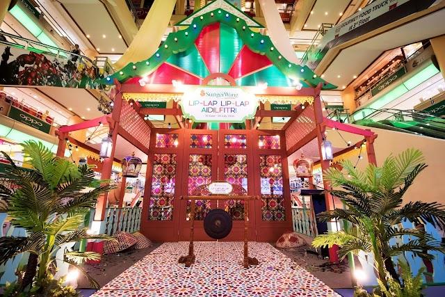 Grand Launch of Lip-Lap Lip-Lap Aidilfitri - A vibrant and colourful Raya celebration @ Sungei Wang Plaza