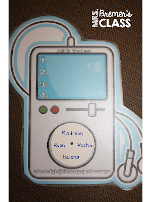 iPod ABC order activity