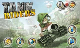 Tank Riders,أفضل الألعاب التي يمكن لعبها عبر متصفح كروم بدون انترنت