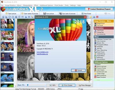 Screenshot FotoWorks XL 2018 v18.0.1 Full Version