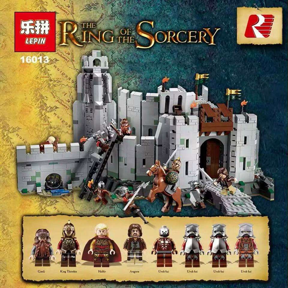 downtheblocks: Lord of the Rings Bootleg of Lego Helm's ...
