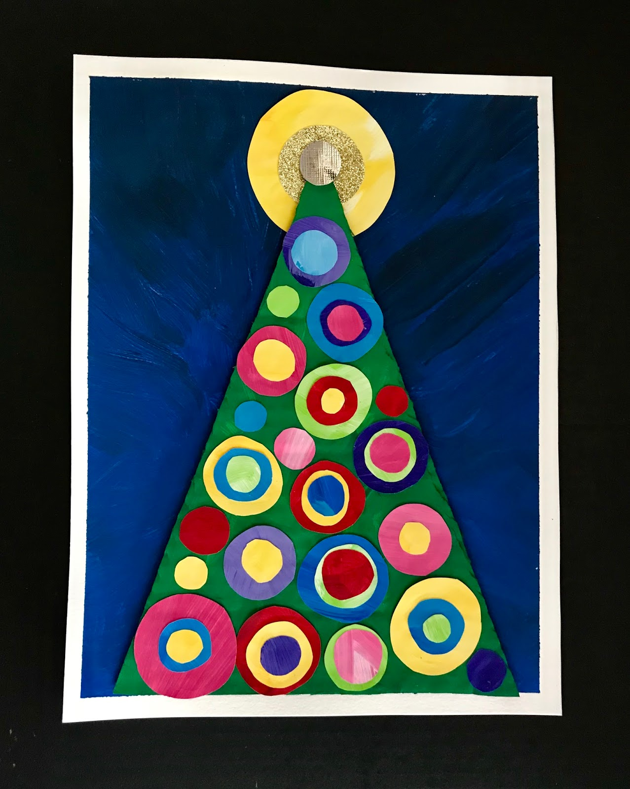 This Is An Easy Christmas Tree Project Good For Kinders On Up