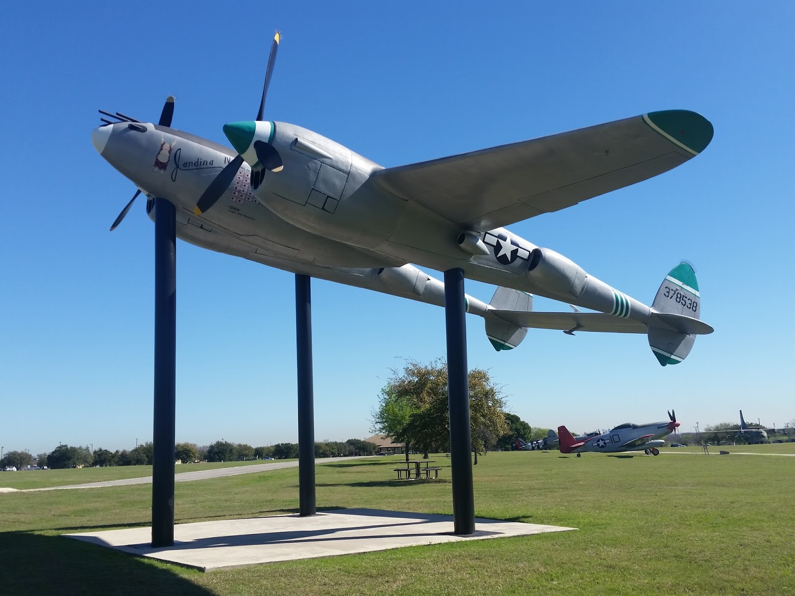 Field Trip: Lackland Air Force Base Open Air Museum | A
