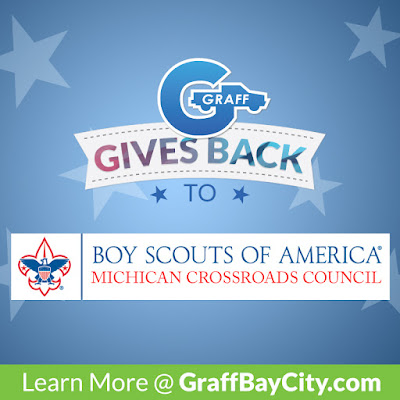 Graff Gives Back to the Michigan Crossroads Council of the Boy Scouts of America