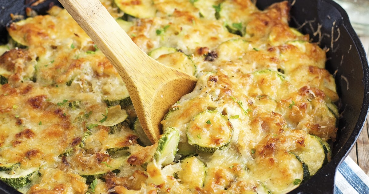 The Iron You: Easy Zucchini Gratin