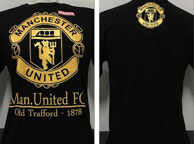 Kaos Bola Manchester United Gold