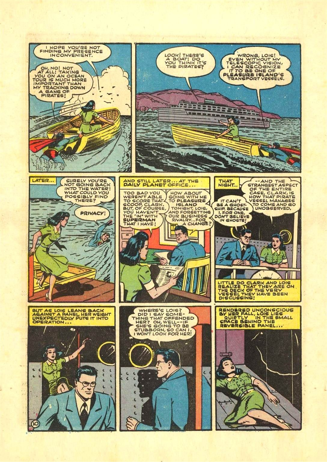 Read online Action Comics (1938) comic -  Issue #54 - 11