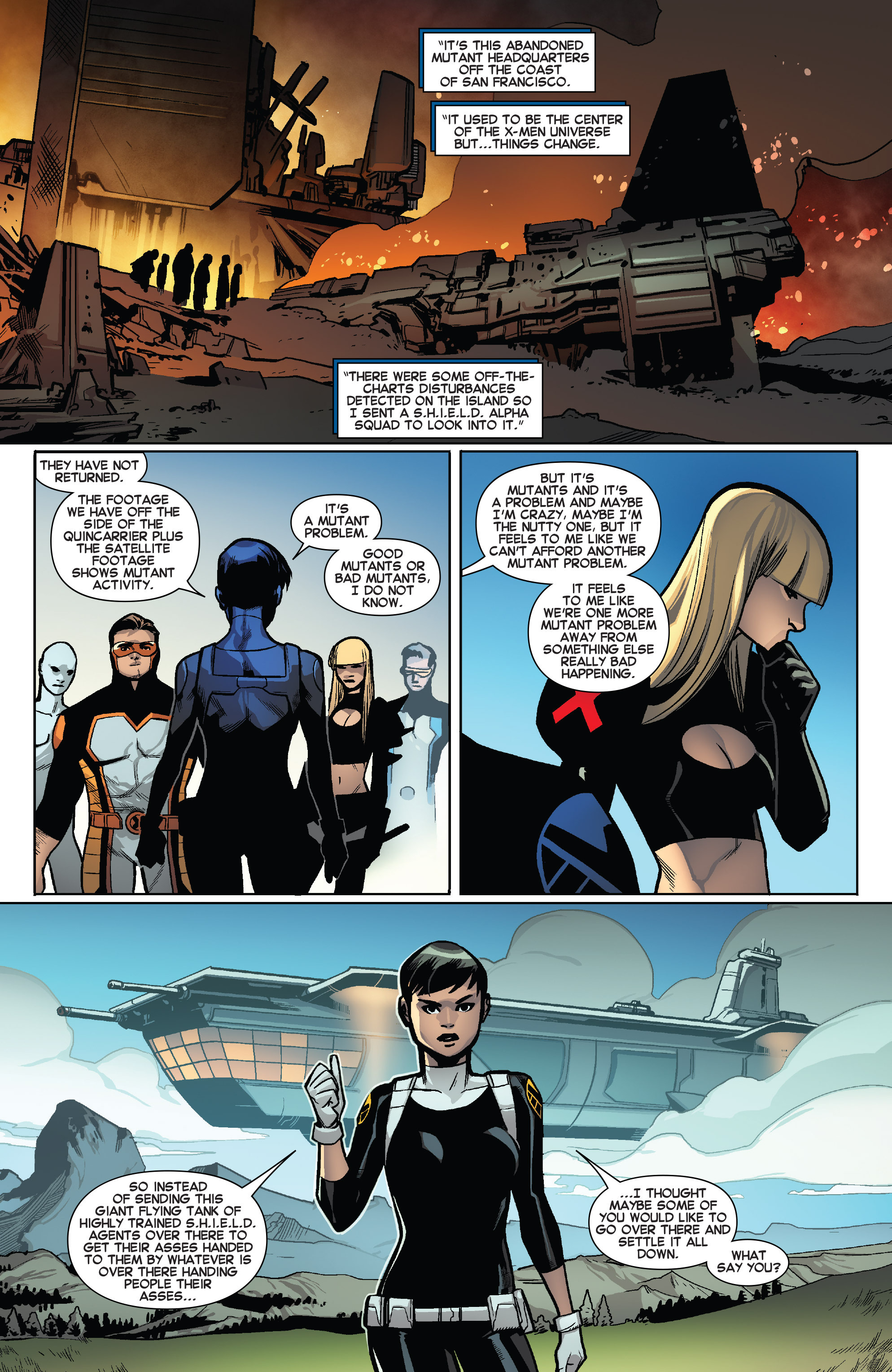 Read online All-New X-Men (2013) comic -  Issue #41 - 6