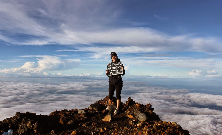 Mount Rinjani Summit 3726 m
