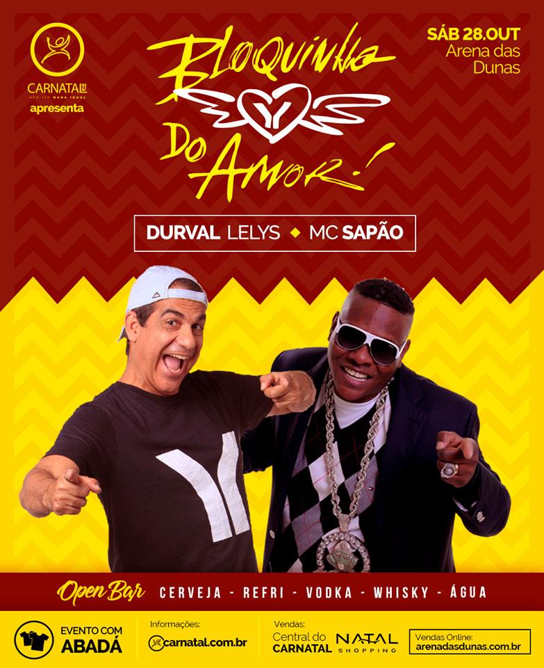 6e72690d13 Festa Bloquinho do Amor promete resgatar sucesso da  Trivela  em festa  exclusiva na Arena das Dunas